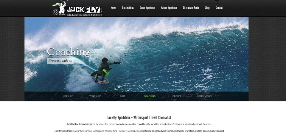 Jackfly Xpedition – Voyage Kitesurf, Windsurf et Surf